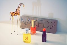 *Urban Decay Naked 2 *Nouba 189 *Ralph Lauren Polo 3 *Oriflame Giordani Gold Delicate Coral
