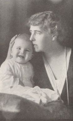 Queen Marie of Romania with Mircea