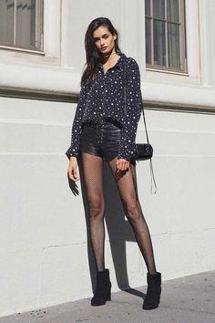 #legs #legsfordays #shorts #fishnets