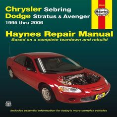 Chrysler 300 dodge charger magnum automotive repair manual chrysler sebring dodge stratus avenger 1995 thru 2006 haynes repair manual fandeluxe Images