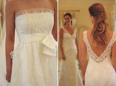 Vestida de noiva ♥