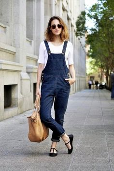 Parisienne: Spring's Biggest Trends : DENIM OVERALLS