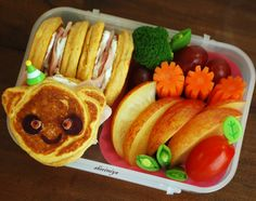 Bento box ideas for toddler lunches!