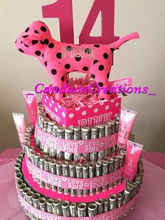 Items Similar To MONEY CAKE Four Tier Graduation Class Of 2017 A Fun Unquie Way Give Money As Gift Celabrate Those Special Occasions On Etsy