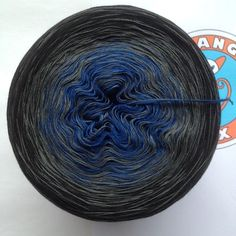 "178g/900m Supima-Bw./Seide ""Hafennacht"" Kobalt, Yarns, Etsy, Random Stuff, Silk, Breien, Cotton"