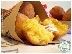 Gaelle what is this??! della Mia Cucina - Ricette semplici, veloci e golose: Crocchette di cous cous allo zafferano con Gruyère