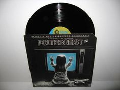 HOLIDAY SALE Rare Vinyl Record Poltergeist by JustCoolRecords, $21.25