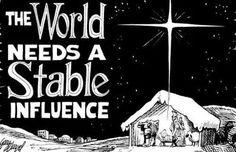 World needs stable influence