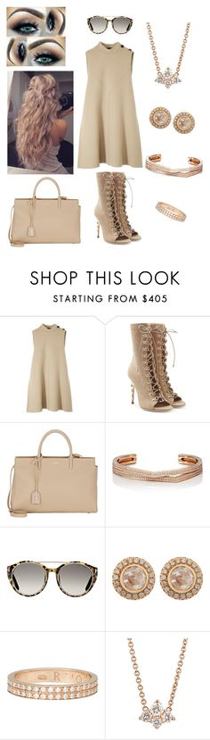 """34"" by tiger-a12 on Polyvore featuring Derek Lam, Balmain, Yves Saint Laurent, Repossi, Tom Ford, Zoe and Sara Weinstock"