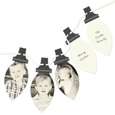Photo Christmas Cards  -- Picture Perfect Lights