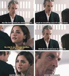 12 and Clara goodbye