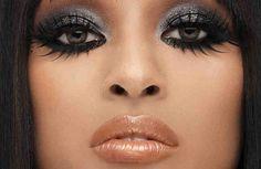 Cómo maquillar los ojos estilo exótico #maquillaje #ojjos #exótico