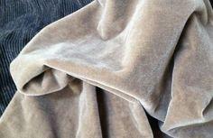 Donghia++Antique+Mushroom+Mohair+Velvet+Fabric++#Donghia