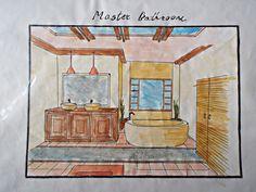 Interior Design :Residential Design rendered room sample