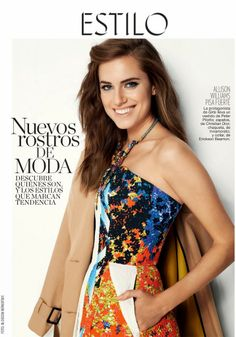 Allison Williams by Blossom Berkofsky for Glamour Spain February 2014