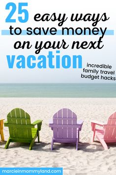Want to know how other families travel on a budget for school vacations? You can totally travel for cheap if you know where to save and what's worth the splurge. Find out how to travel on a budget with kids by picking inexpensive places to travel, saving money on food, and taking advantage of incredible travel deals. These cheap travel ideas will help you make unbelievable memories with your kids! Start planning a trip today! www.marcieinmommyland.com Travel Blog, Travel Deals, Travel Advice, Travel Tips, Travelling Tips, Travel Info, Travel Abroad, Travel Hacks, Travel Guides