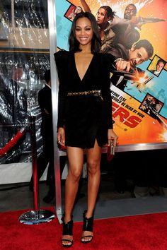 lovable Zoe Saldana ...Swish lips...