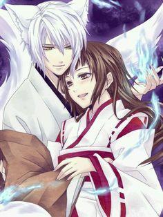 Kamisama Kiss - Tomoe x Nanami Kamisama Kiss, Fan Art, Anime Guys, Manga Anime, Anime Wolf, Tomoe And Nanami, Couple Manga, Kaichou Wa Maid Sama, Manga Love