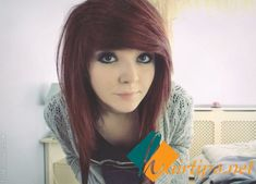 Enhance Your Courage with Long Emo hairstyles