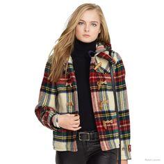 plaid wool duffel coat polo ralph lauren New Arrivals: Polo Ralph Lauren Fall 2014 Collection of Dresses & Coats