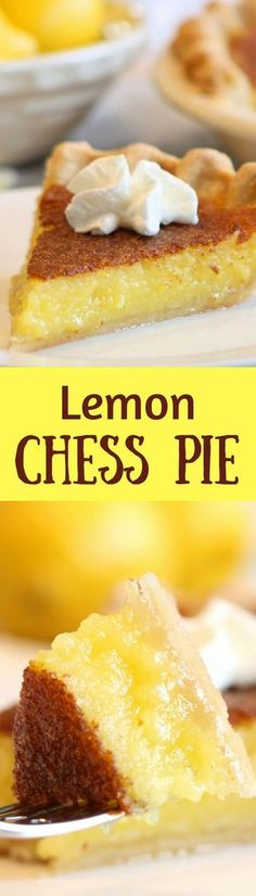 This pie is super simple, tangy, sweet, creamy and easy to make.  If you like lemon bars you'll like this pie too!  http://www.savingdessert.com