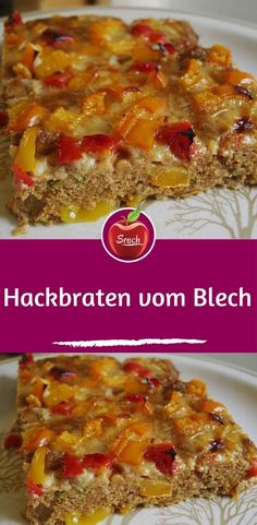 simply meatloaf from the einfach Hackbraten vom Blech Ingredients 500 g minced meat, mixed 4 m. – large egg (s) 50 g breadcrumbs 3 tsp mustard, medium hot 1 tsp paprika powder, hot - Easy Smoothie Recipes, Easy Smoothies, Good Healthy Recipes, Healthy Snacks, Snack Recipes, Dinner Recipes, Mince Meat, Meat Loaf, Hamburger Meat Recipes