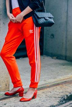 Red and Adidas