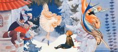 Rudolf Koivu was a conformist and realistic in style, satukuvittajana, he lets the imagination run wild.