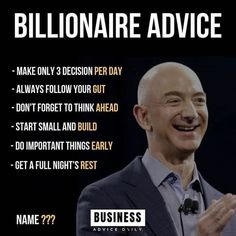 """The Smart Investor 💸 on Instagram: """"What Do You Think? ------ Follow @thesmartinvestor for more! ------…"""" #successquotes"""