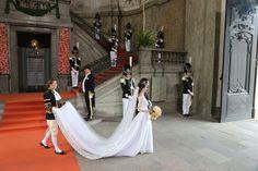 El vestido de novia de Sofia Hellqvist, realizado con seda española - Foto 6