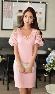 #Pink Designer #Dress
