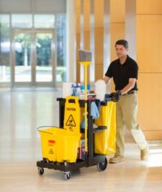 It's one of the most under-appreciated workhorses around the office. Is your janitor cart up to the task?   Supplize