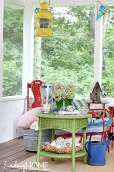 Screened Porch Color