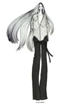 ISSA GRIMM: fashion illustration issagrimm.com #fashionillustrations #fashiondesign