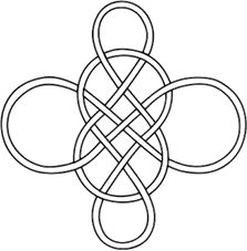 #30691 Celtic, Earth | Full Line Stencil