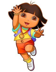 Lets high 5 Dora on her metal, well done Dora!
