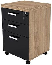 Gaveteiro volante 2 gav. e 1 gavetão Filing Cabinet, 1, Storage, Furniture, Home Decor, Steel Furniture, Purse Storage, Decoration Home, Room Decor