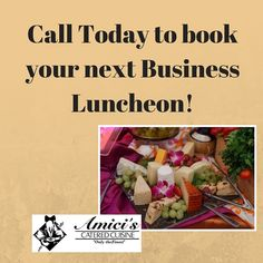 It's Tuesday!  Have you started planning your next business luncheon? We deliver delicious meals for any luncheon. Drop by our offices in Oldsmar and create your menu today!#amicis #catering # business #lunches #meals #events