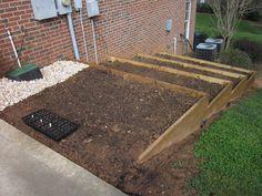 tiered garden bed (Eric's side garden?)