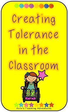 This is a great activity to teach tolerance and respect to your students! It's especially important at the start of the school year! #backtoschool #BTS