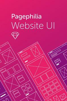 UI Kit de Sitio Web de Pagephilia By Fenixkim on Pagephilia Periodic Table, Kit, Website, Projects, Log Projects, Periodic Table Chart