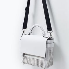 PERFORATED CITY BAG Look+: 2 of 2