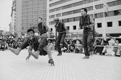 Old school breakdance