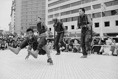 Old school breakdance