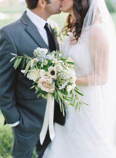 Green and Ivory Organic Real Wedding weddingsparrow.co.uk