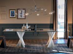 Tavolo skorpio ~ Tavolo skorpio round di cattelan italia table with transparent
