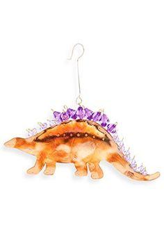 Pilgrim Imports Stegosaurus Fair Trade Ornament  Price : $15.99 http://www.fairindigo.com/Pilgrim-Imports-Stegosaurus-Trade-Ornament/dp/B00KLKCY9E