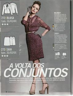 Fehr Trade: Manequim May 2012 Sewing Magazines, Peplum Dress, Separates, Chic, Search, Dresses, Style, Fashion, Shabby Chic