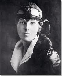 Two years before she disappeared, Amelia Earhart was encouraging women to try flying.