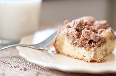 coffee cake with big crumb topping..I just made this last night AMAZING!! The crumb topping was relish!!! Its a keeper!!